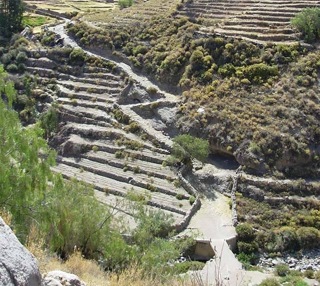 Camino inca en Tarata