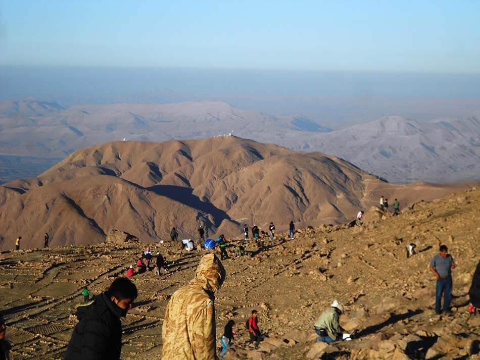 Turismo en Moquegua - Cerro Baúl
