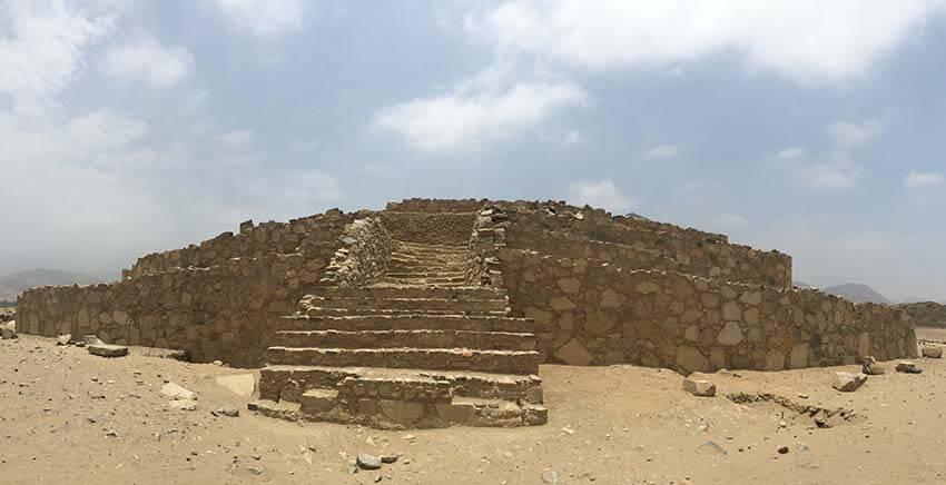 Ciudad sagrada de Caral de Lima