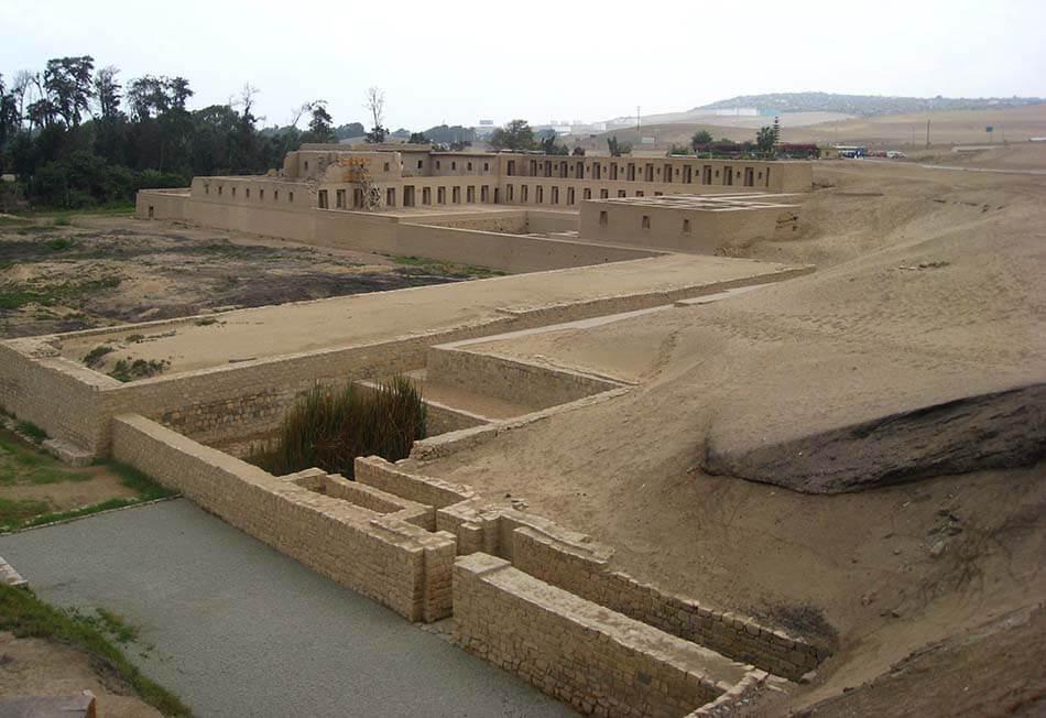 Complejo Arqueologico de Pachacamac En Lima