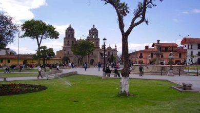 Plaza de Armas - Turismo en Cajamarca