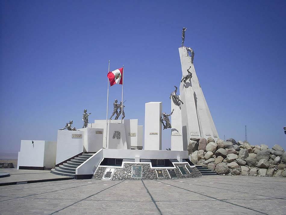 El Campo de la Alianza es un lugar a visitar en tu viaje de turismo en Tacna