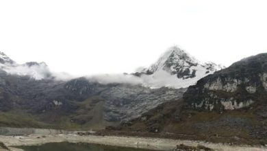 Photo of Nevado Huaguruncho: Un imponente glaciar en una cordillera de APUS