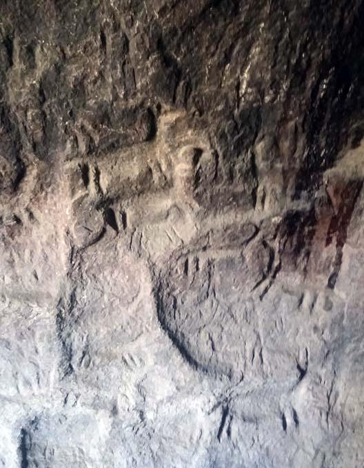 arte rupestre Cuevas de Mollepunku arequipa