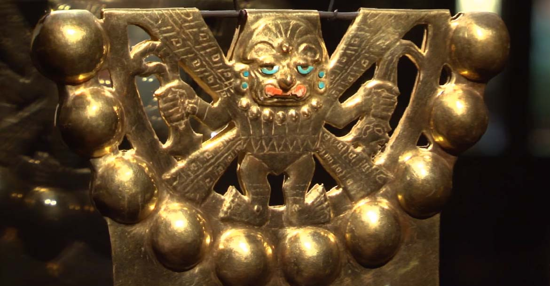 Objeto de Oro 2 - Museo Señor de Sipán