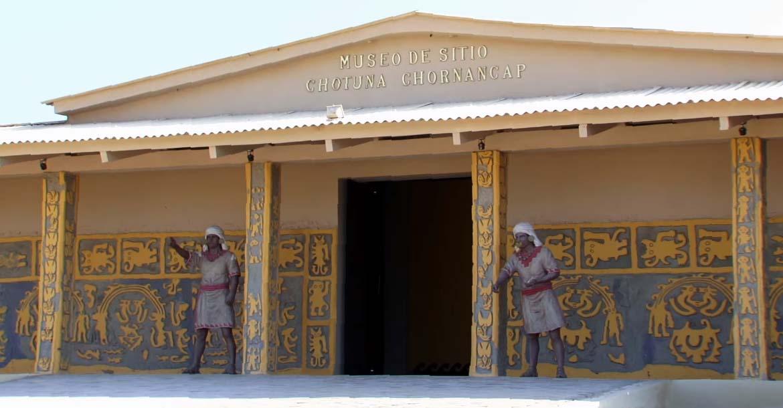 entrada museo de sitio chotuna chornancap
