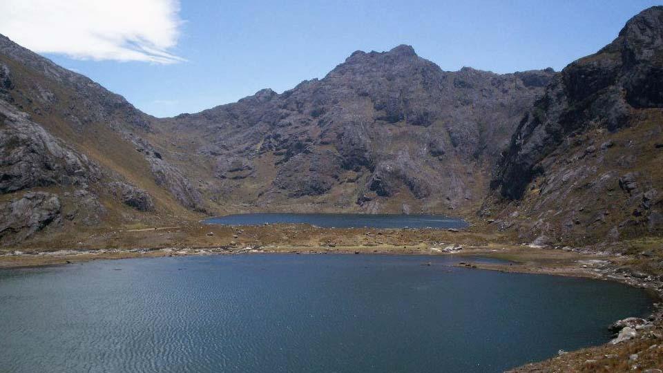 lagunas cerro Mishahuanga