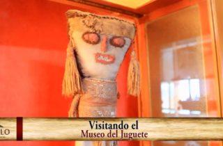 Juguetes prehispanico en el museo de juguetes de trujillo