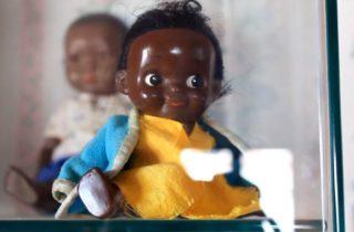 Muñeca Negrita del Museo de Juguetes de Trujillo