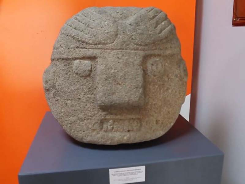 Museo Arqueológico de Áncash Augusto Soriano Infante Cabeza clava