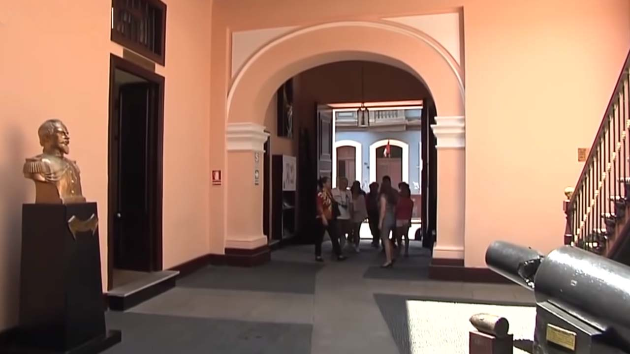 Entrada del Museo de los Combatientes del Morro de Arica