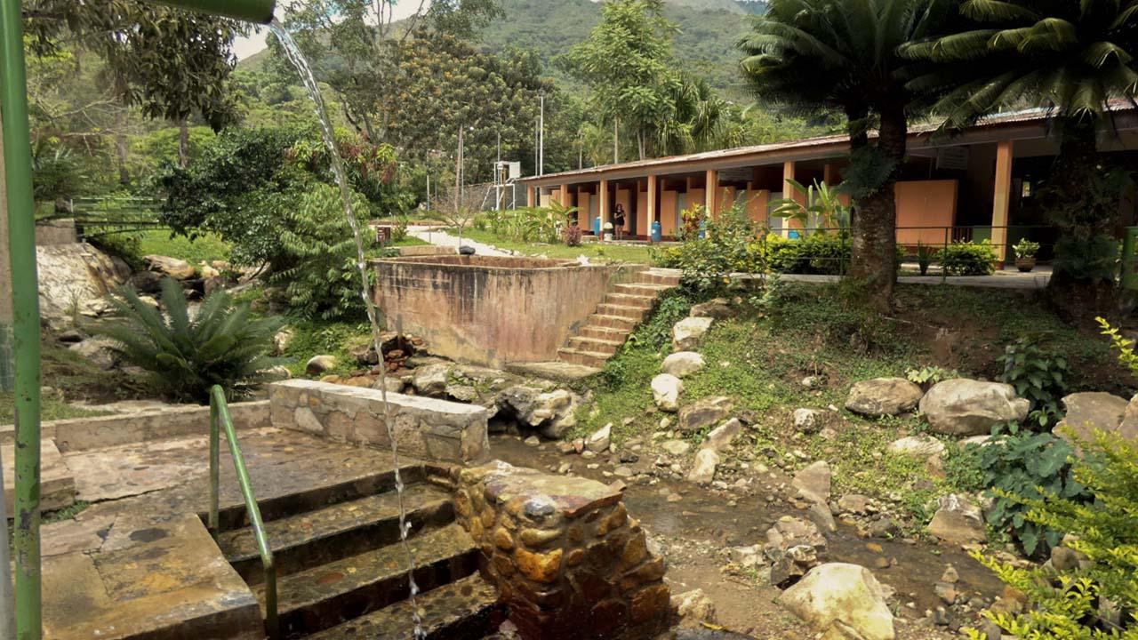 Baños Termales de San Mateo en Moyobamba