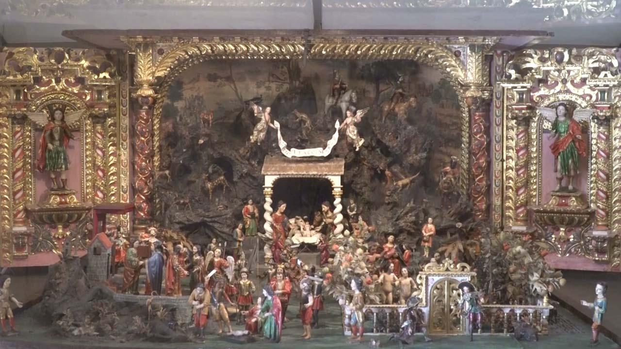 Baúl de Navidad en el Monasterio Santa Teresa