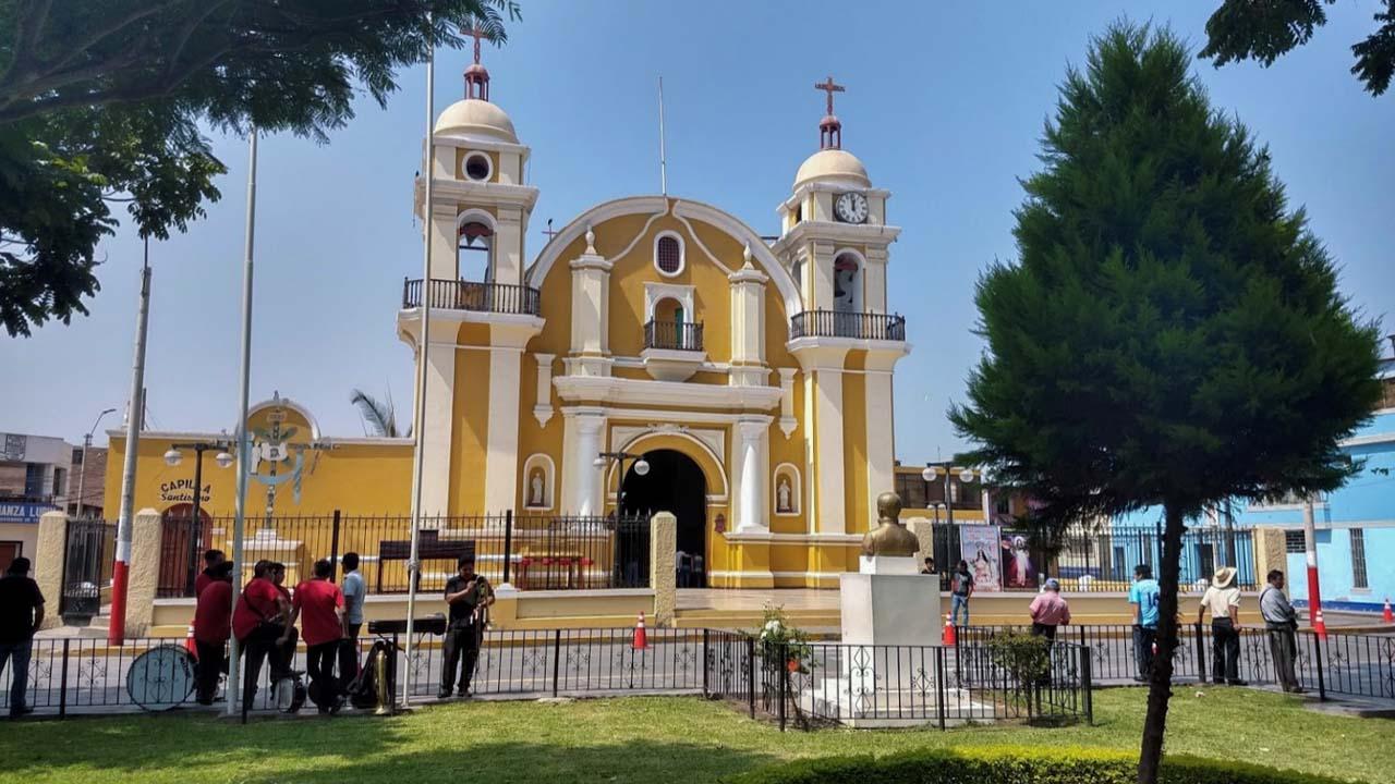 Catedral San Pedro en Lurin Lima