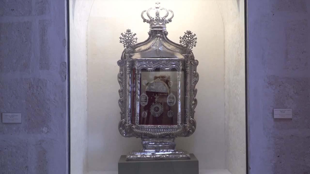 Relicario en el Museo de Arte Virreinal de Santa Teresa