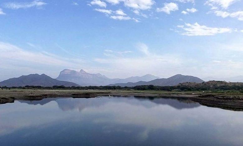 Reservorio de Tinajones en Chongoyape Lambayeque