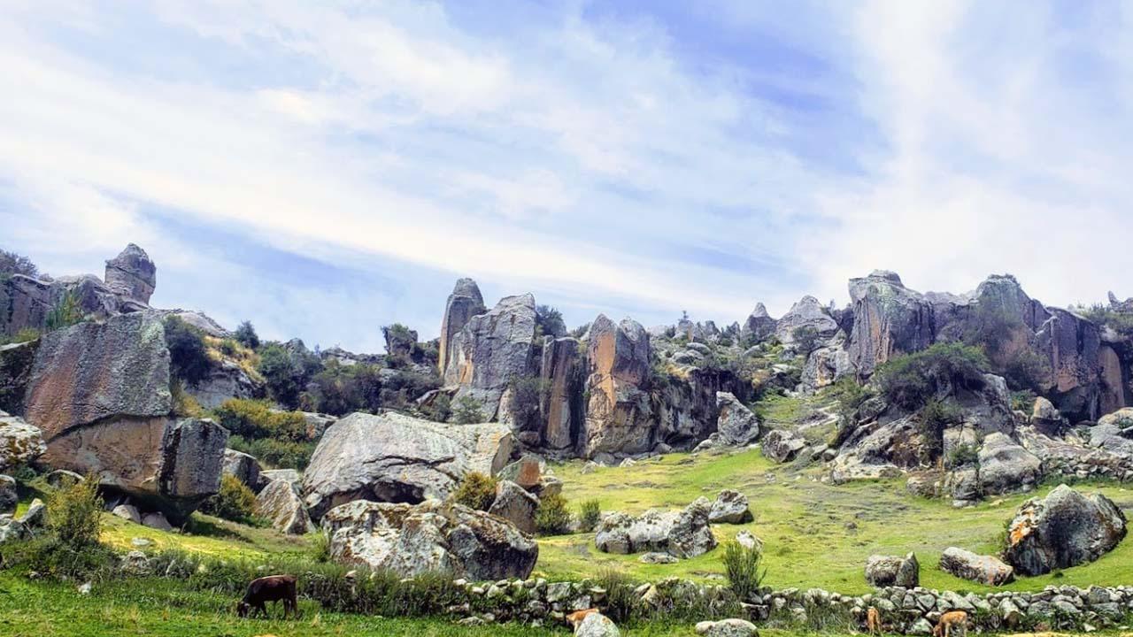 Bosque de Piedras de Huaraca en Ayacucho