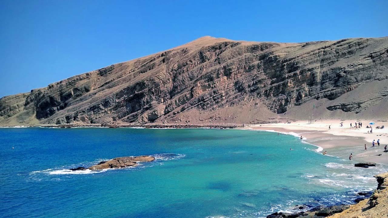 Playa la Mina en Pisco Ica