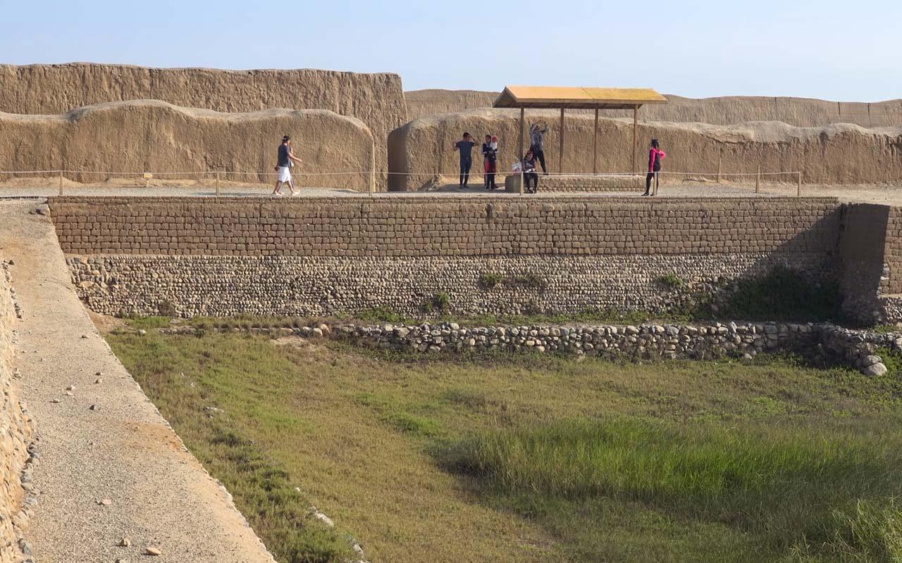 Pozo en el sitio Arqueológico