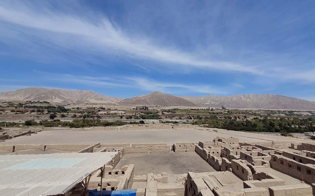 Sitio Arqueológico de Tambo Colorado en Pisco-Ica
