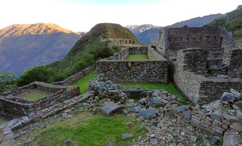 Sitio arqueologico de Choquequirao en Cusco