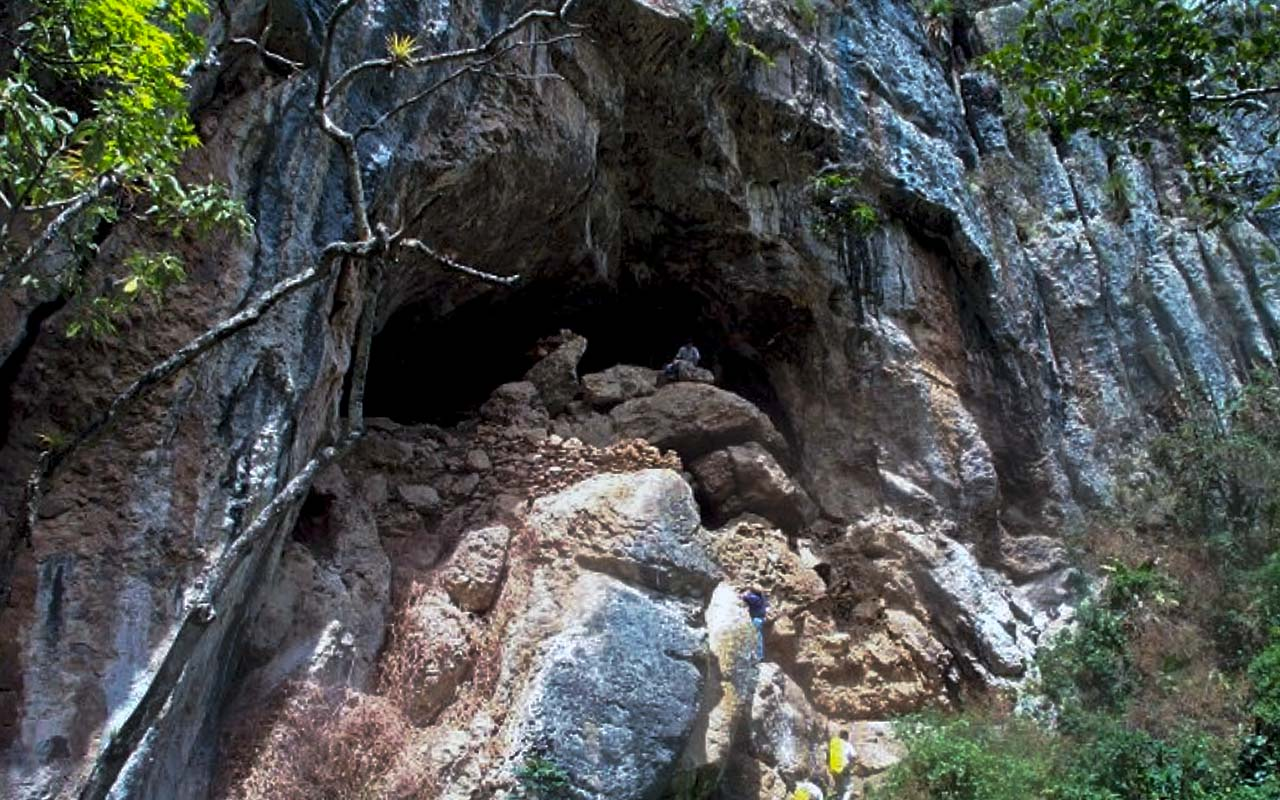 Caverna de Shihual en Amazonas