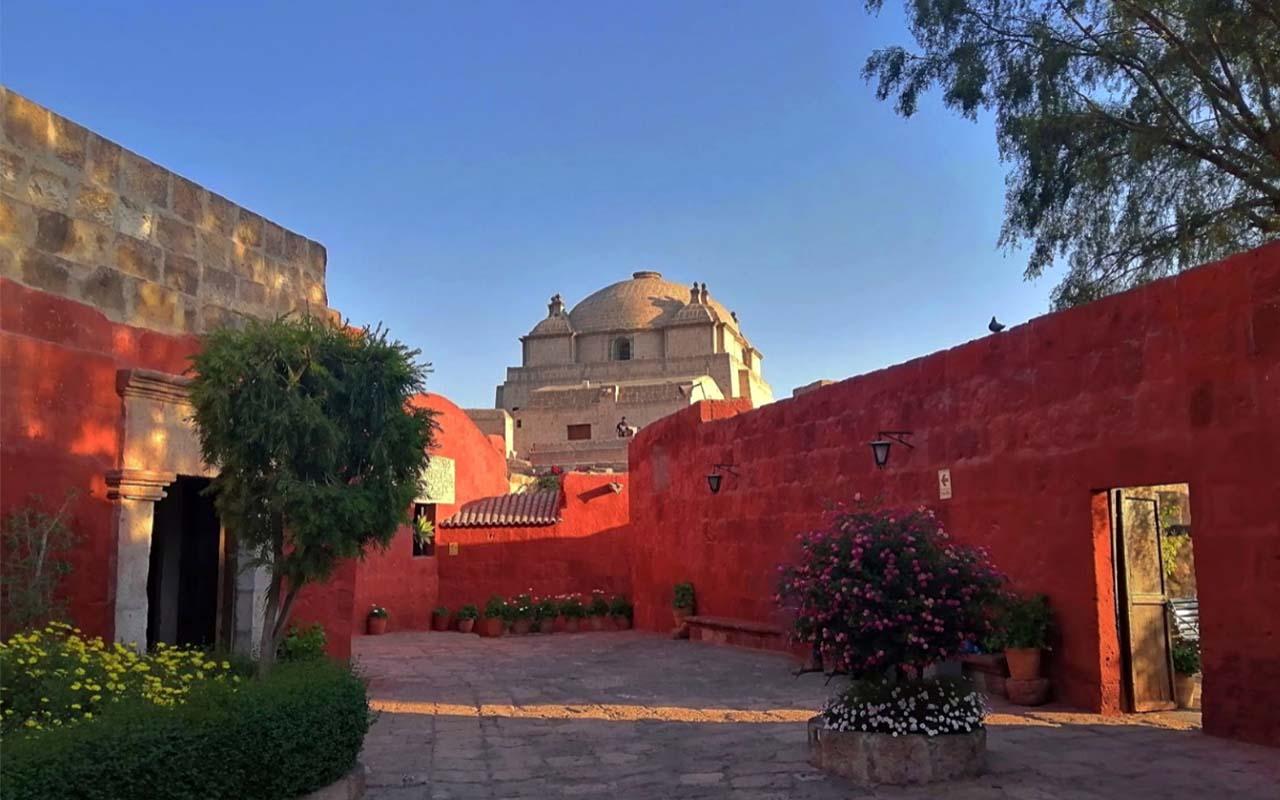 Monasterio de Santa Catalina en la ciudad de Arequipa