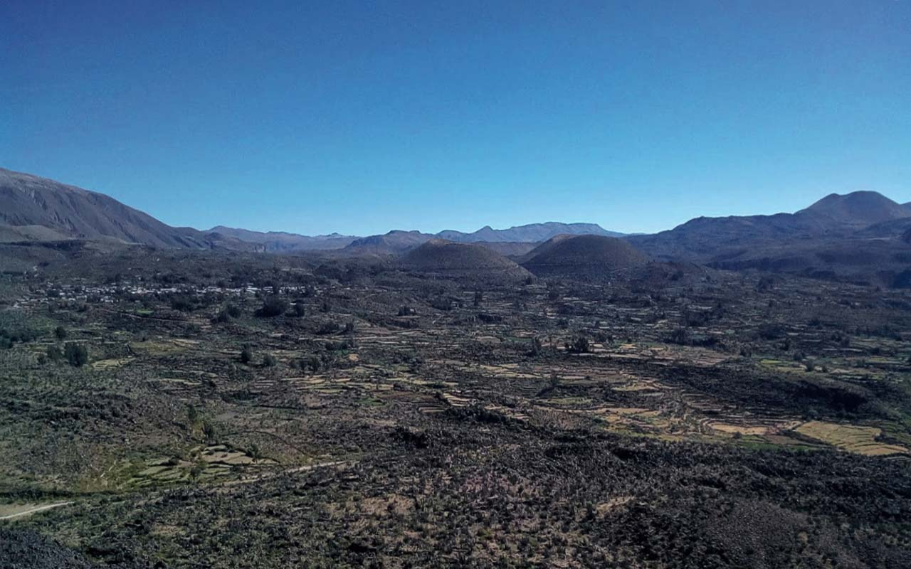 Valle de los Volcanes en Arequipa