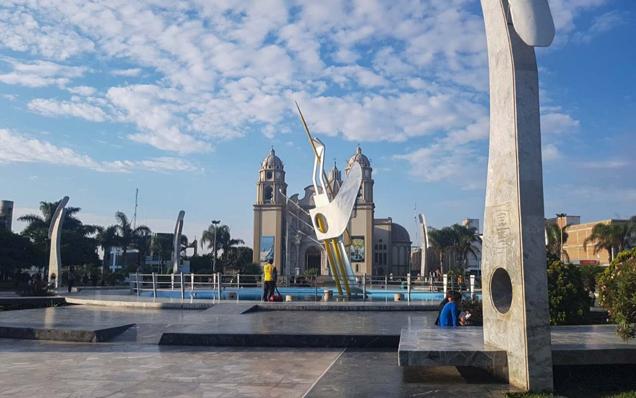 Plaza de Chimbote en Santa-Ancash