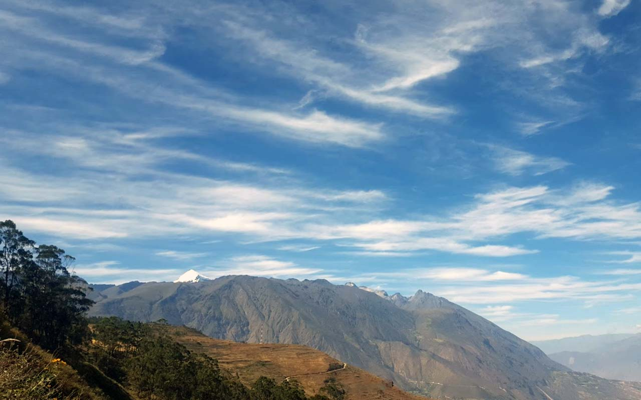 Provincia de Corongo en Ancash