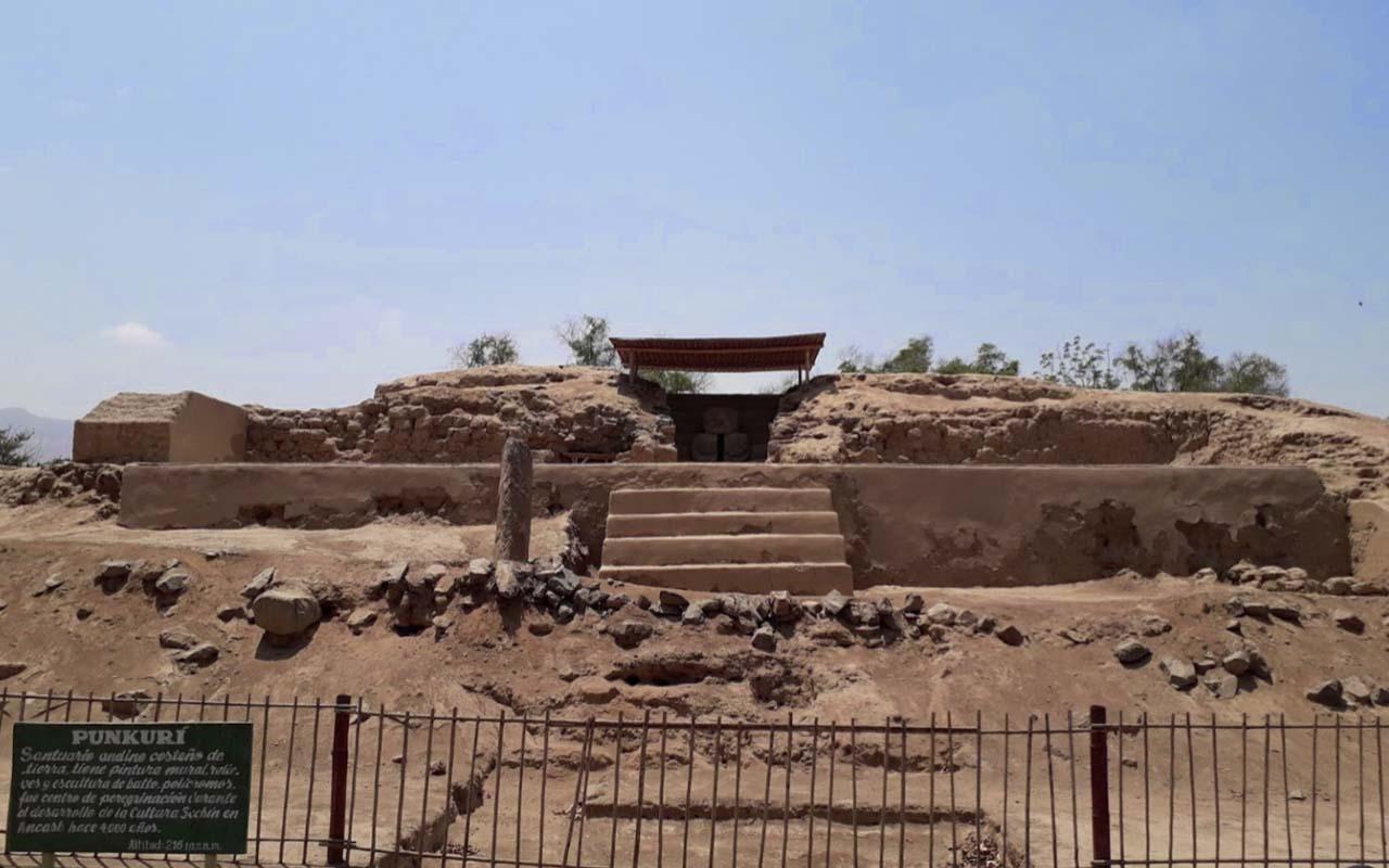 Sitio Arqueológico De Punkurí en Santa