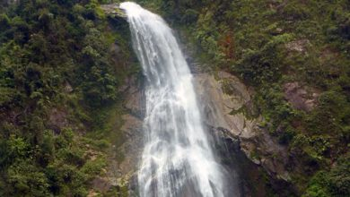 Catarata de Numparket en Bagua-Amazonas