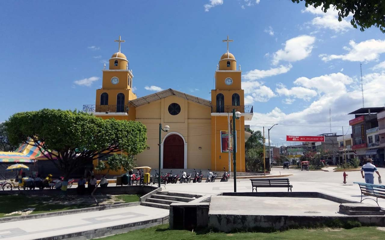 Plaza de Armas de Bagua en Amazonas