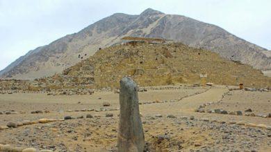 Ciudad Sagrada de Caral en Barranco-Lima